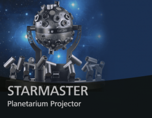 ZEISS STARMASTER Planetarium Projector provides the natural depiction of the night sky for medium-sized domes.
